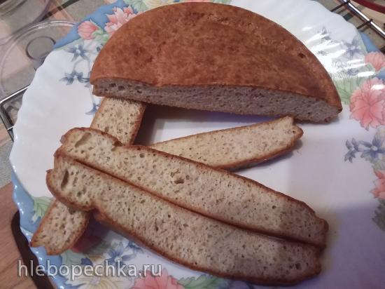 Кето-хлеб из льняной и кокосовой муки
