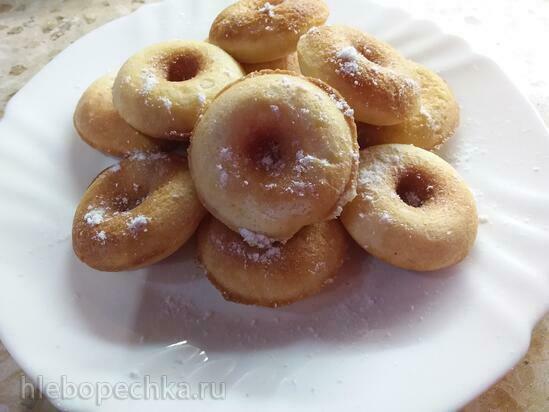 Миндальные (безглютеновые) пончики в электрической такоячнице