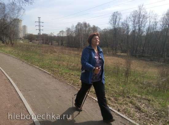 Скандинавская ходьба - лучший фитнес для городского человека