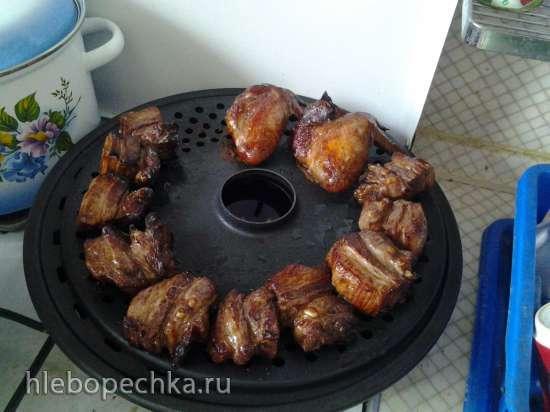Маринад для рульки, крылышек, мяса, грудинки и т. д. для придания копченого вкуса и вида