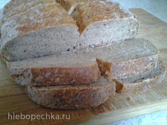 Заварной ароматный отрубной хлеб