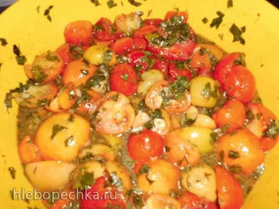 Зеленые помидоры (резанные)