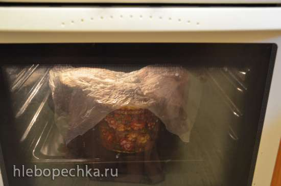 Традиционный пасхальный кулич (мастер-класс)