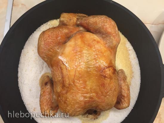 Курица в духовке (минус десять)