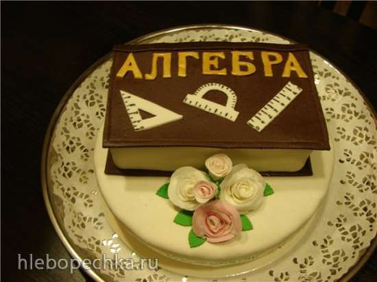 Торты, украшенные мастикой и марципаном (3)