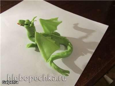 Дракон из мастики (мастер-класс)