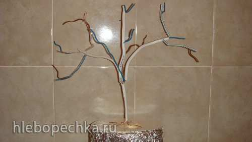 Дерево на каркасе (мастер-класс)