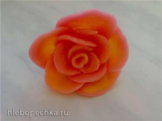 Фрукты и цветы из жевательных конфет