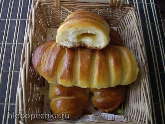 Булочки Парижанки с кремом (Cream de parisienne)