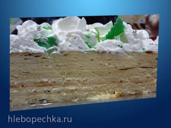 Торт «Сметанник» (автор Nastasya)