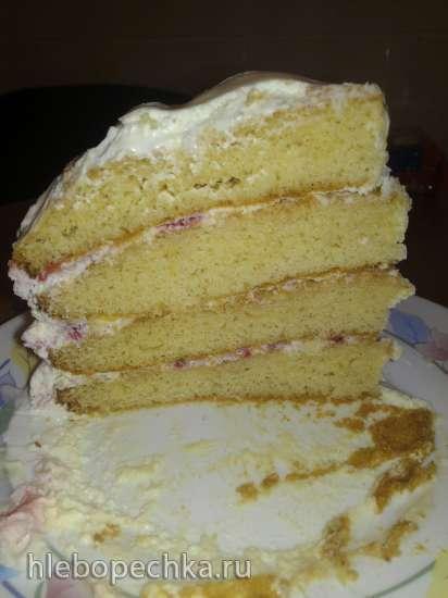 Торт медовый на сгущенном молоке