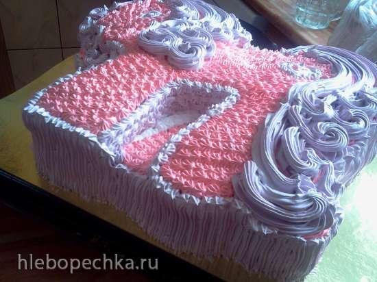Торт «Пони» Мастер-класс