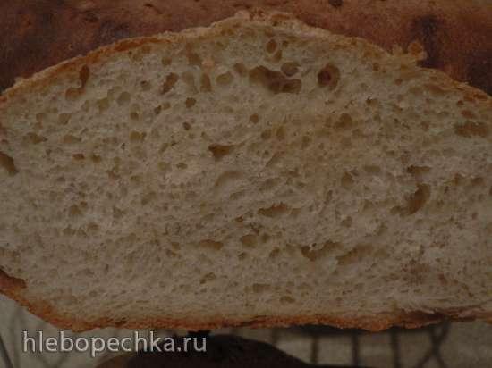 Хлеб Комо (Pane di Como) в духовке (не путайте с Pane di Come Antico)