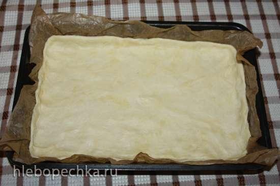 Пирог «Сникерс»