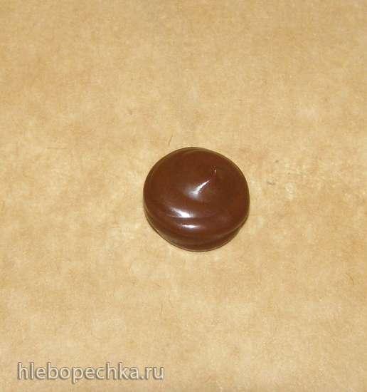 Шоколадные веера