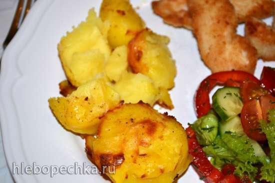Картофель, запеченый с розмарином