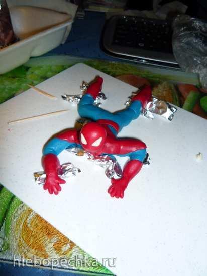 Лепка фигурки Человека-паука (мастер-класс)