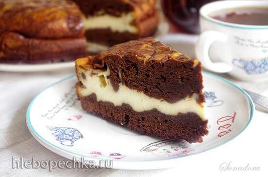 Шоколадный пирог с маскарпоне