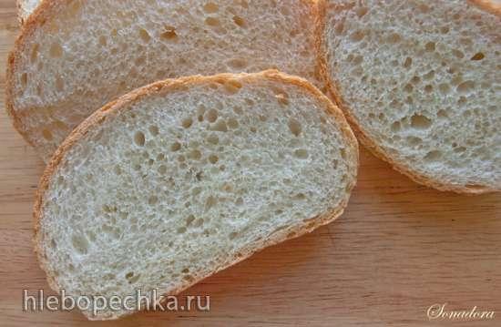Батон пшеничный на биге