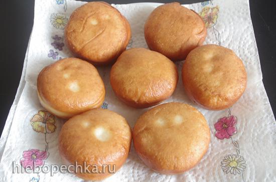 Бомболони - итальянские пончики с кремом