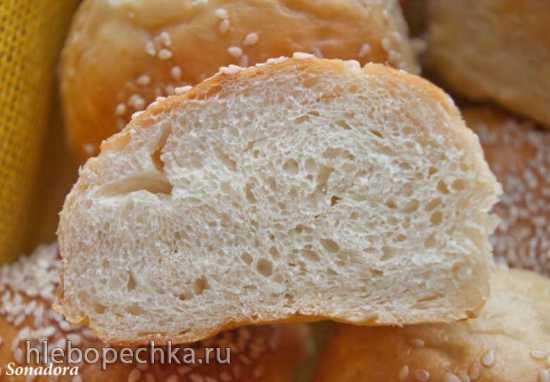 Картофельные булочки с печеным чесноком