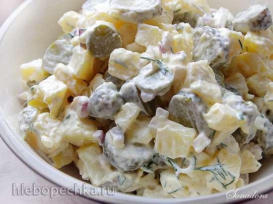 Финский картофельный салат (Perunasalaatti)