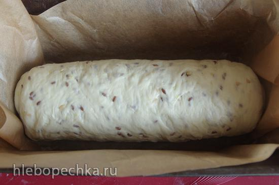 Хлеб с картофелем и семенами льна