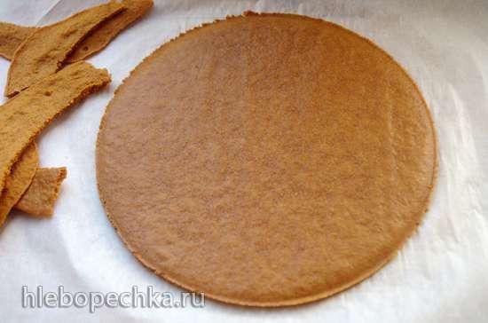 Медовик Карамельный с белым шоколадом и маскарпоне