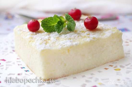 Мильяччо (неаполетанский пирог из манки с рикоттой)