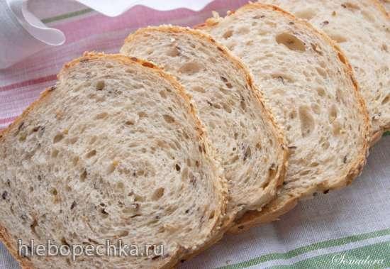 Простой мультизерновой хлеб (Many-Seed Bread) от Питера Рейнхарта