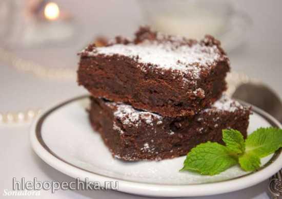 Шоколадное пирожное без муки (Torta di cioccolato senza farina for Giada)
