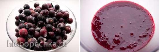 Фруктово-ягодное мороженое (мороженица Brand 3812)