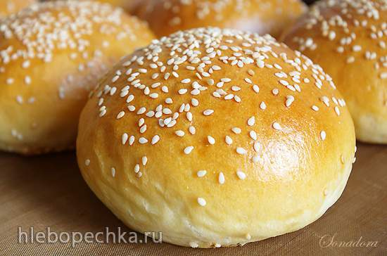 Булки для гамбургеров от Мишеля Суа