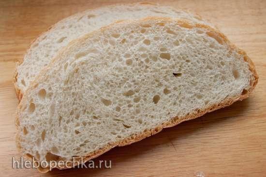 Хлеб пшеничный на старой опаре
