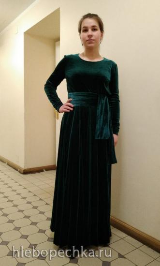 В обновленном платье