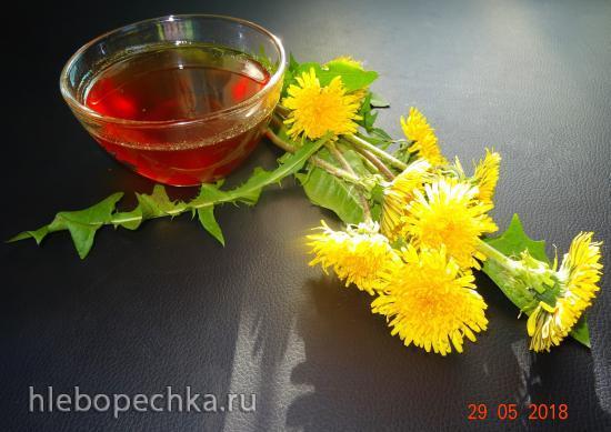 Мёд из одуванчиков (с квиттином)