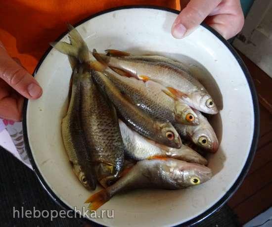 Рыба жареная, речная, особого улова