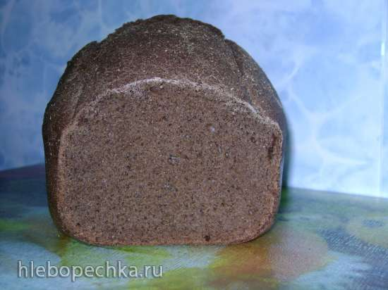 Пшенично-ржаной хлеб (очень похожий на Бородинский)