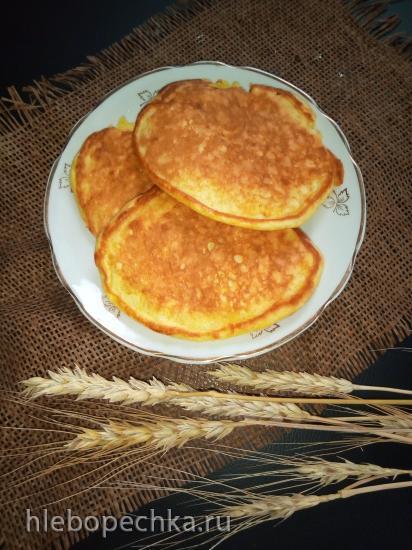 Оладьи пшенично-кукурузные