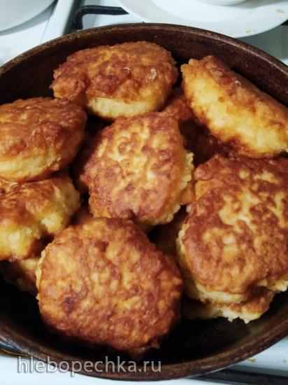 Пышки из молочной рисовой каши