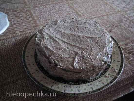 Торт со стеклянными коржами или «Торт 100 орехов»