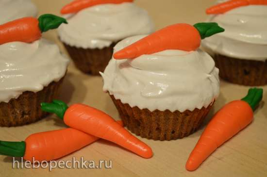 Маффины медово-морковные (Honey Carrot Muffins)