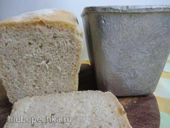 Пшеничный хлеб с белым солодом