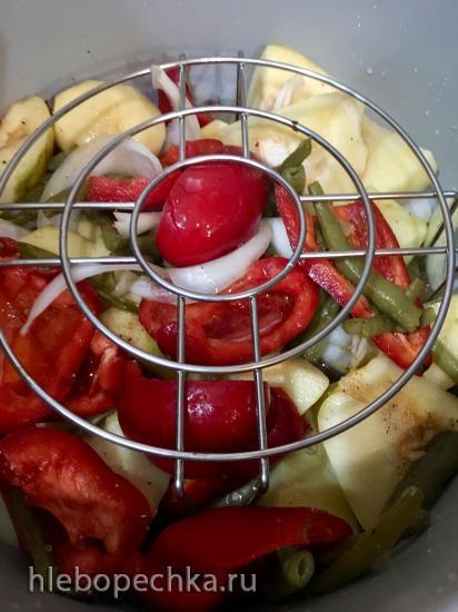 Баранина с овощами в Ninja Foodi