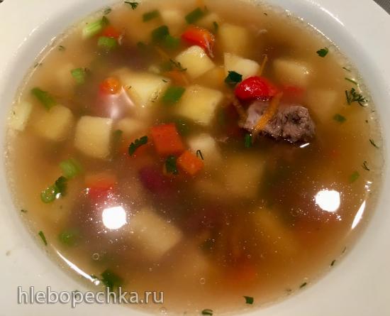 Буженина по мотивам рецепта Ильи Лазерсона (бонус - суп)