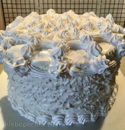 Бисквитный торт «Мой Рафаэлло» (+видео)