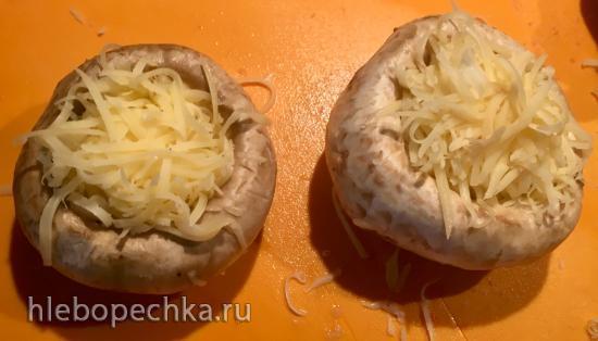 Баклажаны и грибы наизнанку