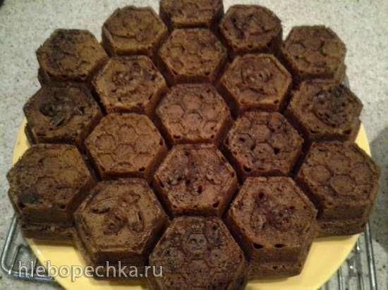 Кекс  с горьким шоколадом и зеленым чаем Newby (жасмин)