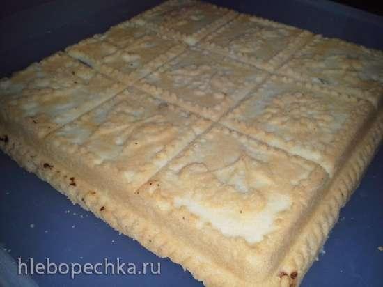 Печенье-пирожное Тающие моменты с черной смородиной