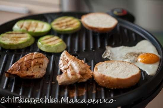 Летний обед на любой вкус (гриль GF-650 BBQ)